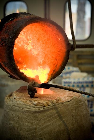 non ferrous metal casting