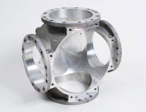 Aluminum alloy casting with machining