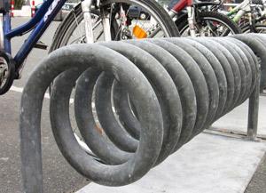 Zinc Bike Rack